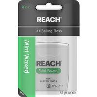 Reach Waxed Floss, Mint, 1 Each