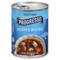 Progresso Soup, Chicken & Wild Rice, Traditional, 19 Ounce