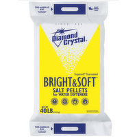 Diamond Crystal Crystal Pellets for Water Softeners, 40 Pound