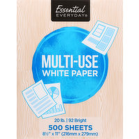 Essential Everyday Paper, Multi-Use, White, 500 Each