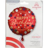Anagram Balloon, Decorative, Standard, 1 Each