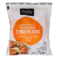 Essential Everyday Chicken, Tenderloins, Boneless, Skinless, 40 Ounce