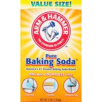 Arm & Hammer Baking Soda, Pure, Value Size, 4 Pound