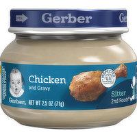 Gerber Chicken and Gravy, 2.5 Ounce