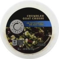 Culinary Circle Cheese, Goat, Crumbled, 4 Ounce