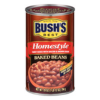 Bushs Best Baked Beans, Homestyle, 28 Ounce