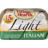Village Hearth Bread, Light, Italian, 16 Ounce