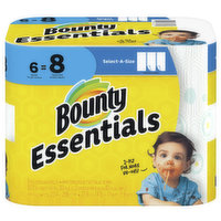 Bounty Essentials Select- A- Size Paper Towel, 1 Each