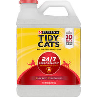 Tidy Cats Clumping Litter, Multi-Cat, 24/7 Performance, 20 Pound