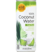 Wild Harvest Coconut Water, 100%, 8 Ounce