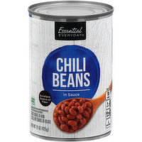 Essential Everyday Chili Beans, In Sauce, 15 Ounce