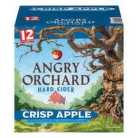 Angry Orchard Hard Cider, Crisp Apple, 12 Each