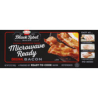 Hormel Bacon, Original, Microwave Ready, 4 Each