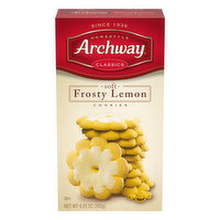 Archway Cookies, Frosty Lemon, Soft, 9.25 Ounce