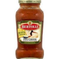 Bertolli Sauce, Five Cheese, 24 Ounce