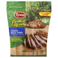 Tyson Chicken Breast Strips, Fully Cooked, 20 Ounce