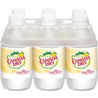 Canada Dry Diet Tonic Water, 6 Each