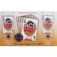 Ace Cider Cider, Mango, 6 Each