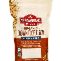 Arrowhead Mills Brown Rice Flour, Gluten Free, Organic, 24 Ounce