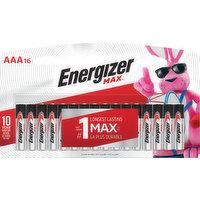 Energizer Battery, Alkaline, AAA, 16 Each