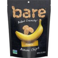 Bare Banana Chips, Simply, 2.7 Ounce