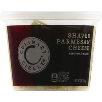 Culinary Circle Cheese, Parmesan, Shaved, 5 Ounce
