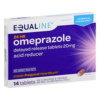 Equaline Omeprazole, 20 mg, Tablets, 14 Each