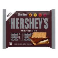 Hershey's Milk Chocolate, 6 Full Size, 6 Each