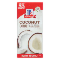 McCormick Extract, Coconut, 1 Ounce