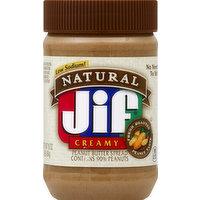 Jif Peanut Butter Spread, Creamy, 16 Ounce