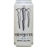 Monster Energy Drink, Zero Ultra, 16 Ounce