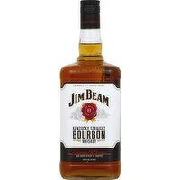 Jim Beam Whiskey, Kentucky Straight Bourbon, 1.75 Litre