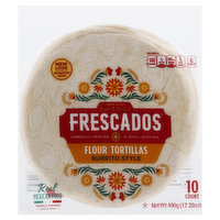 Frescados Tortillas, Flour, Burrito Style, 10 Each