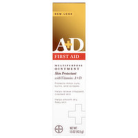 A+D Ointment, First Aid, Multipurpose, 1.5 Ounce