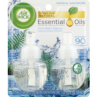 Air Wick Scented Oil Refills, Fresh Waters Fragrance, 2 Each