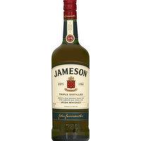 Jameson Whiskey, Irish, Triple Distilled, 1 Litre