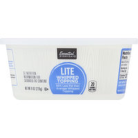 Essential Everyday Whipped Topping, Lite, 8 Ounce