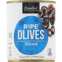 Essential Everyday Ripe Olives, Sliced, 3.8 Ounce