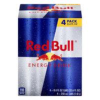 Red Bull Energy Drink, 4 Pack, 4 Each
