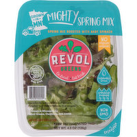 Revol Greens Spring Mix, Mighty, 4.5 Ounce