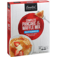 Essential Everyday Pancake & Waffle Mix, Complete, Buttermilk, 32 Ounce