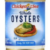 Chicken of the Sea Oysters, Whole, 8 Ounce