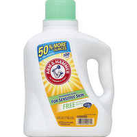 Arm & Hammer Detergent, 2X Concentrated, Free of Perfumes and Dyes, 150 Ounce