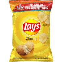 Lay's Potato Chips, Classic, 8 Ounce
