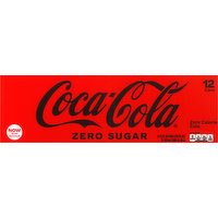 Coca-Cola Cola, Zero Sugar, Fridge Pack, 12 Each