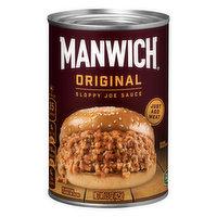 Manwich Sloppy Joe Sauce, Original, 15 Ounce