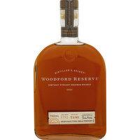 Woodford Reserve Bourbon, Kentucky Straight Bourbon Whiskey, 750 Millilitre