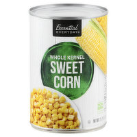 Essential Everyday Sweet Corn, Whole Kernel, 15.25 Ounce