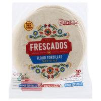 Frescados Flour Tortillas, Taco Style, 10 Each