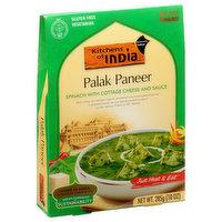 Kitchens of India Palak Paneer, Mild, 285 Gram